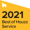 Houzz Best of Service Badge 2021