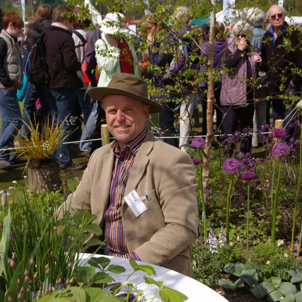 Barry Chambers at Malvern Spring Show
